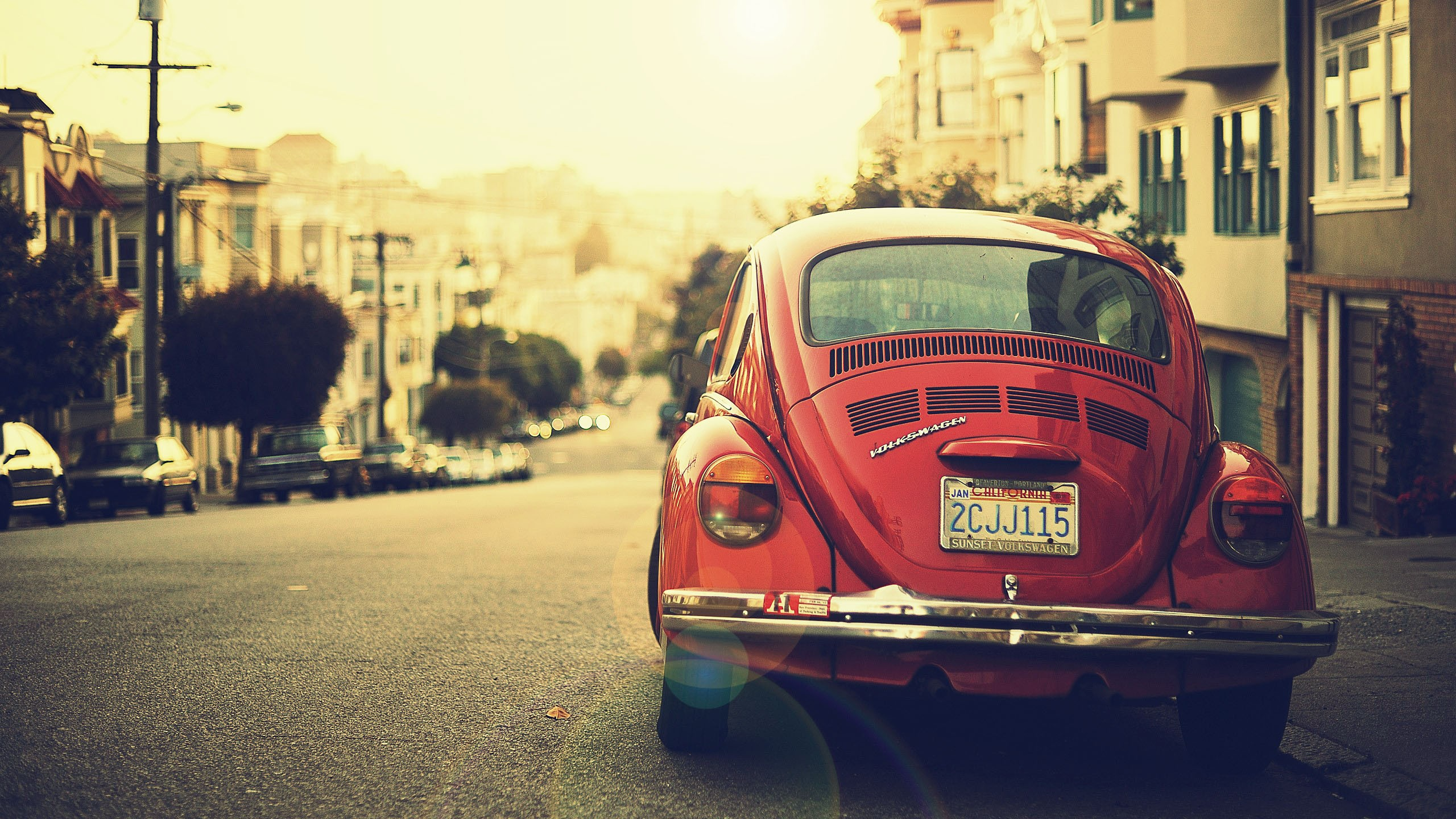 The Old VolkSwagen - Vintage Photography
