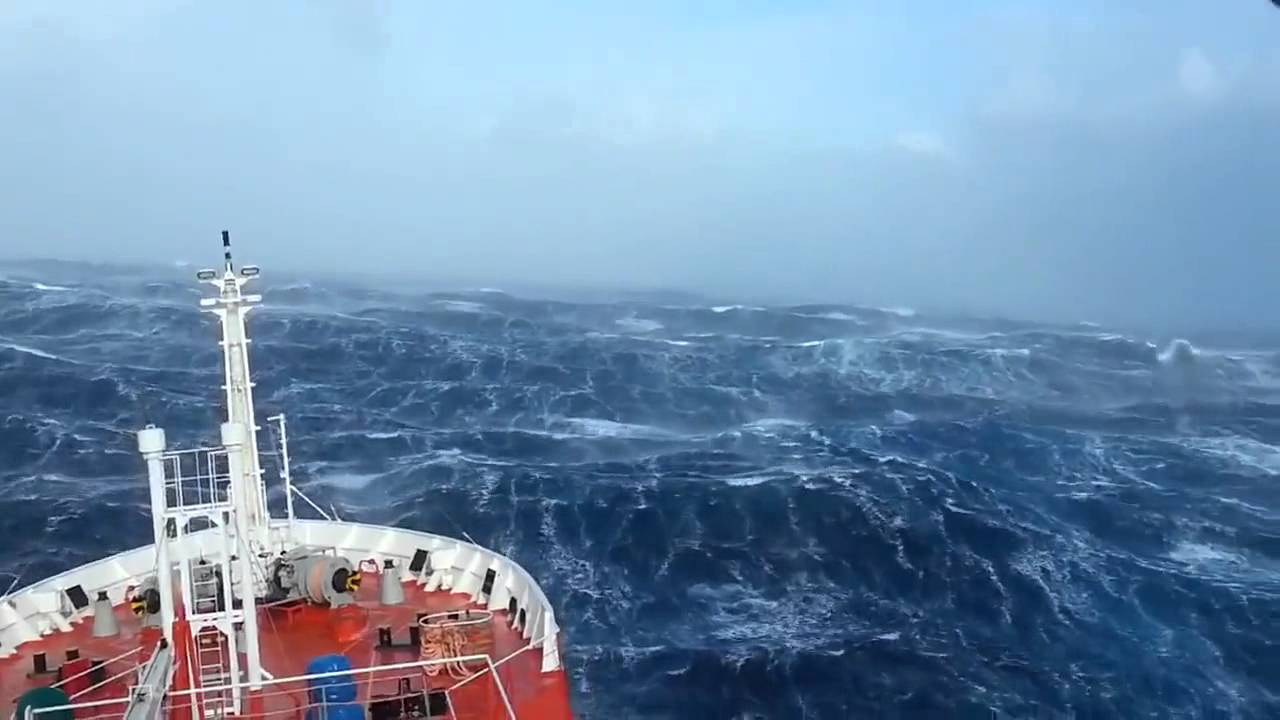 Crazy Ship in Massive Waves