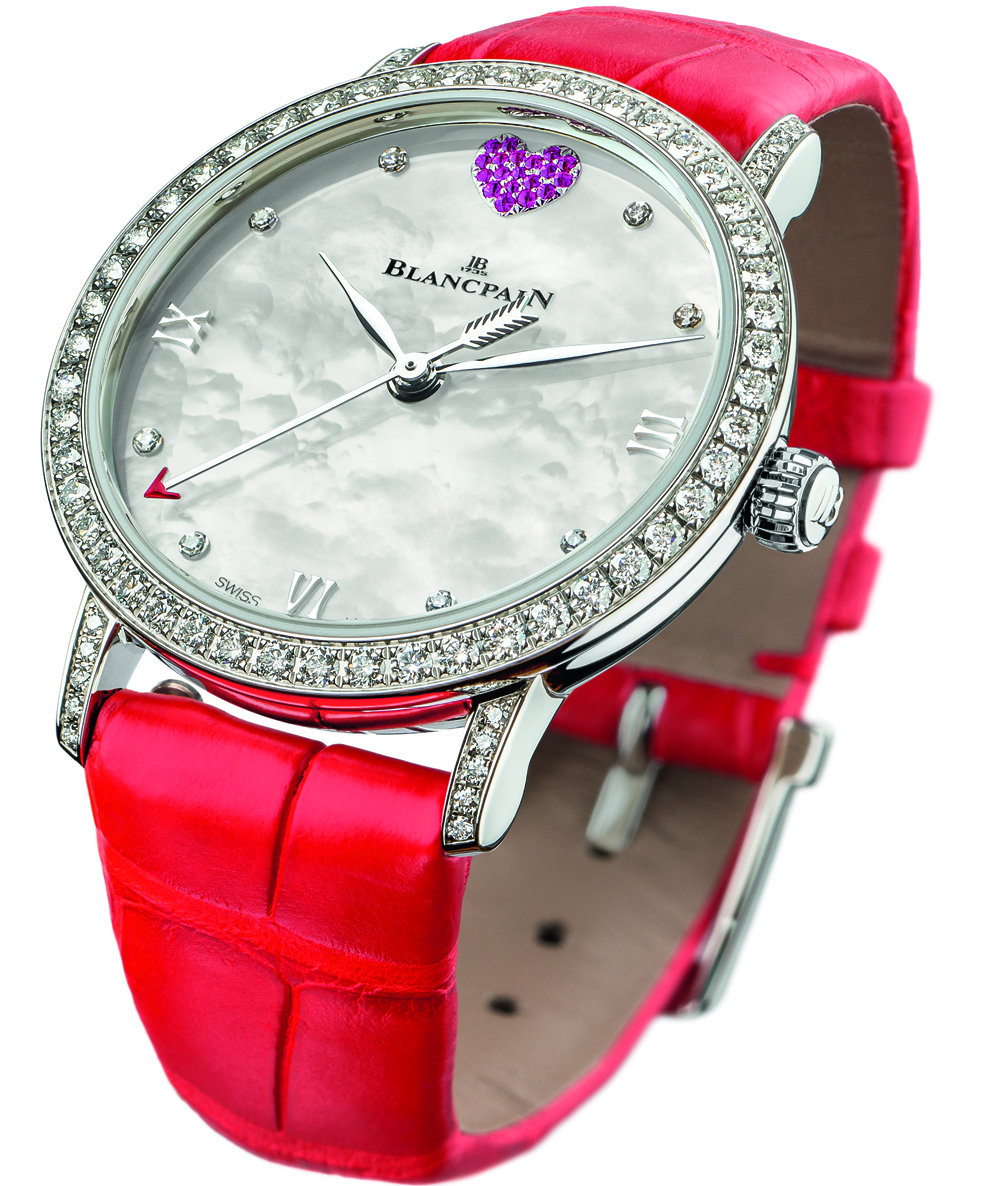 Blancpain St. Valentine's Day Special Edition Watch For The Ladies In Your Life