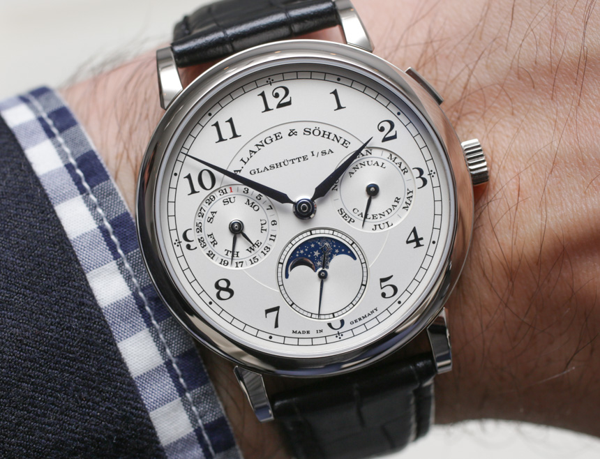 A. Lange & Söhne 1815 Annual Calendar Watch Hands-On