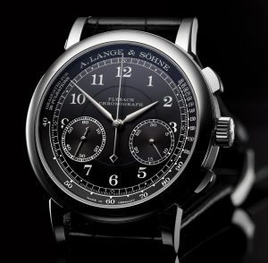 A. Lange & Söhne 1815 Chronograph Watch With Black Dial Watch Releases