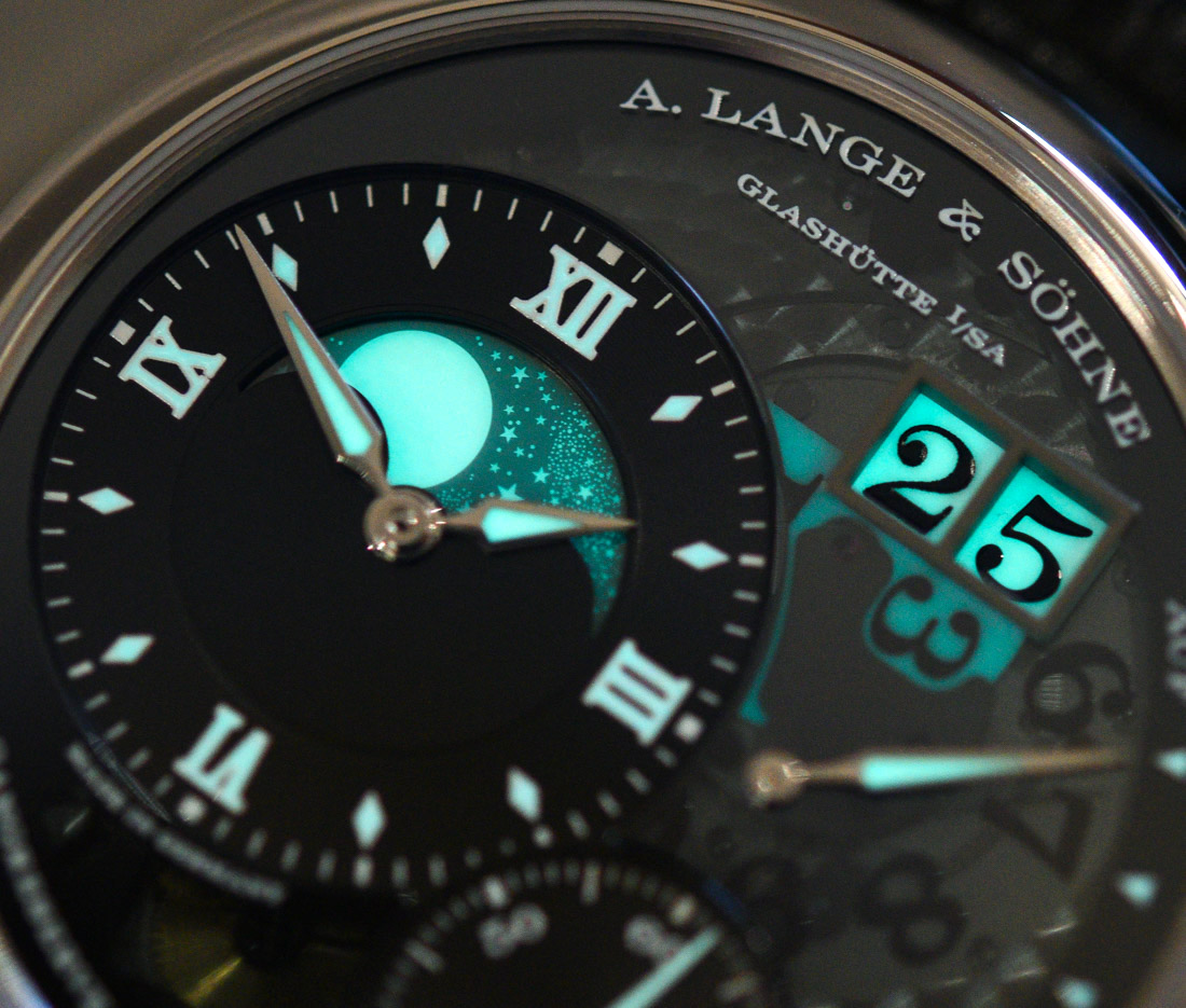 A. Lange & Söhne Grand Lange 1 Moon Phase 'Lumen' Watch Hands-On Hands-On