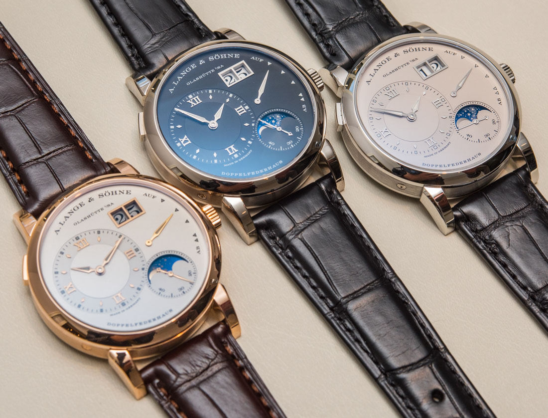 Updated A. Lange & Söhne Lange 1 Moon Phase Watch With Day/Night Indicator