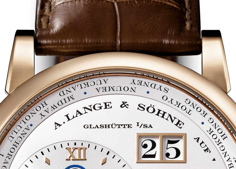 A. Lange & Söhne Lange 1 Time Zone Watch In Honey Gold Watch Releases