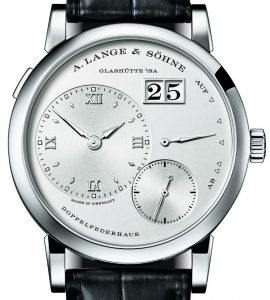 A. Lange & Söhne Lange 1 Watch In White Gold Watch Releases
