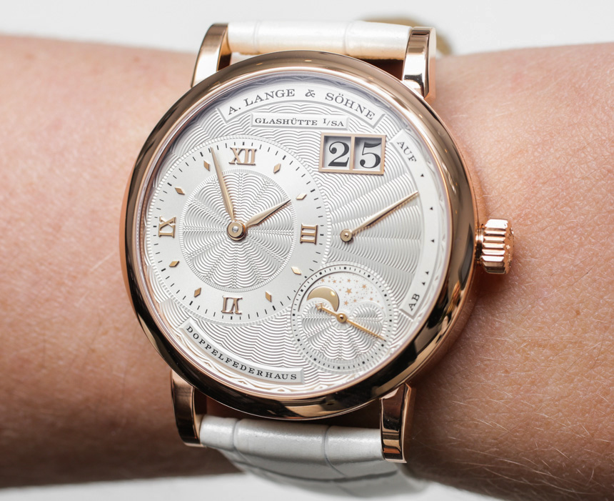 A. Lange & Söhne Little Lange 1 Moon Phase & Saxonia Ladies Watches Hands-On Hands-On