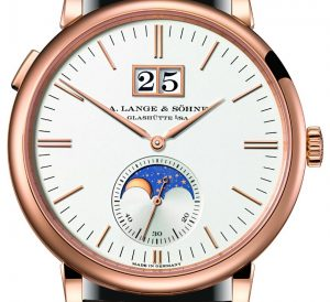 A. Lange & Söhne Saxonia Moon Phase Watch Watch Releases