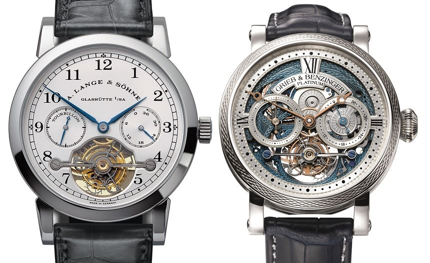 Grieb & Benzinger Blue Merit Customized A. Lange & Söhne Tourbillon Pour Le Merite Watch Watch Releases