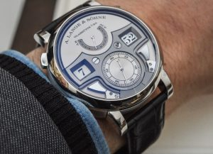 A. Lange & Söhne Zeitwerk Minute Repeater Watch Hands-On Hands-On
