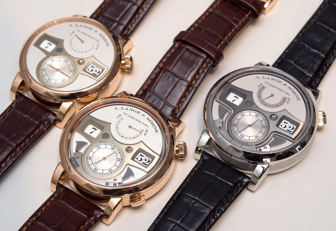 Three Incredible A. Lange & Söhne Zeitwerk Watches Hands-On