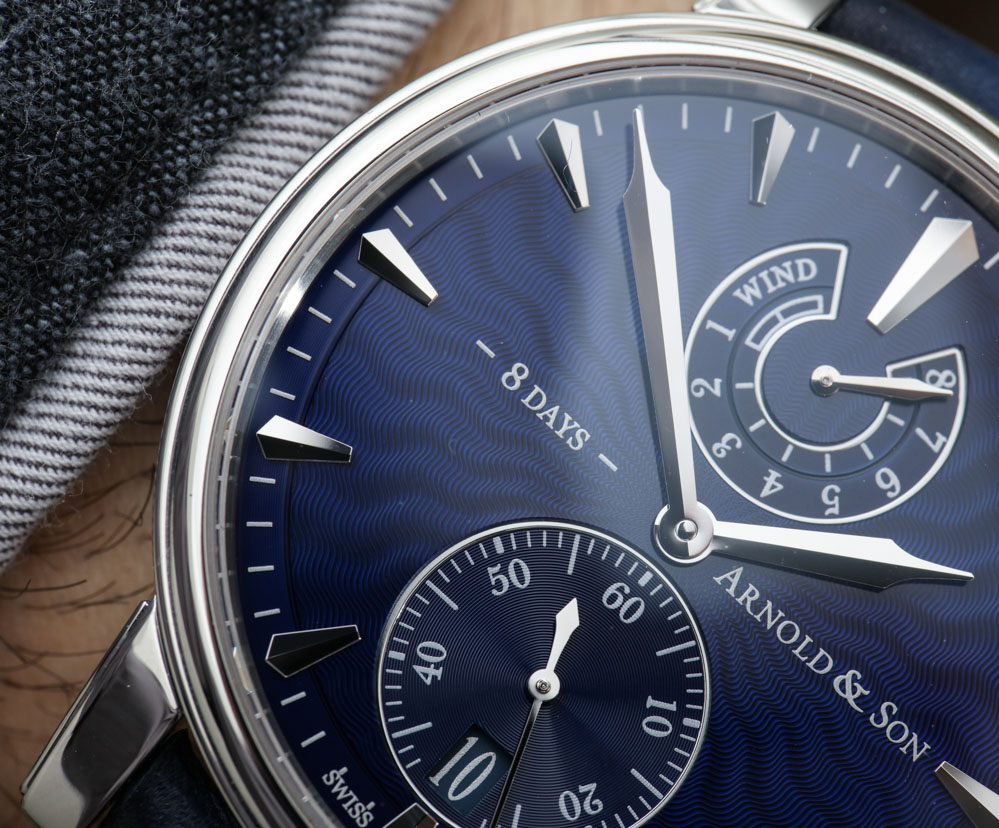 Arnold & Son Eight-Day Royal Navy Watch Hands-On