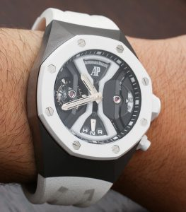 Audemars Piguet Royal Oak Concept GMT Tourbillon White Ceramic Hands-On Hands-On