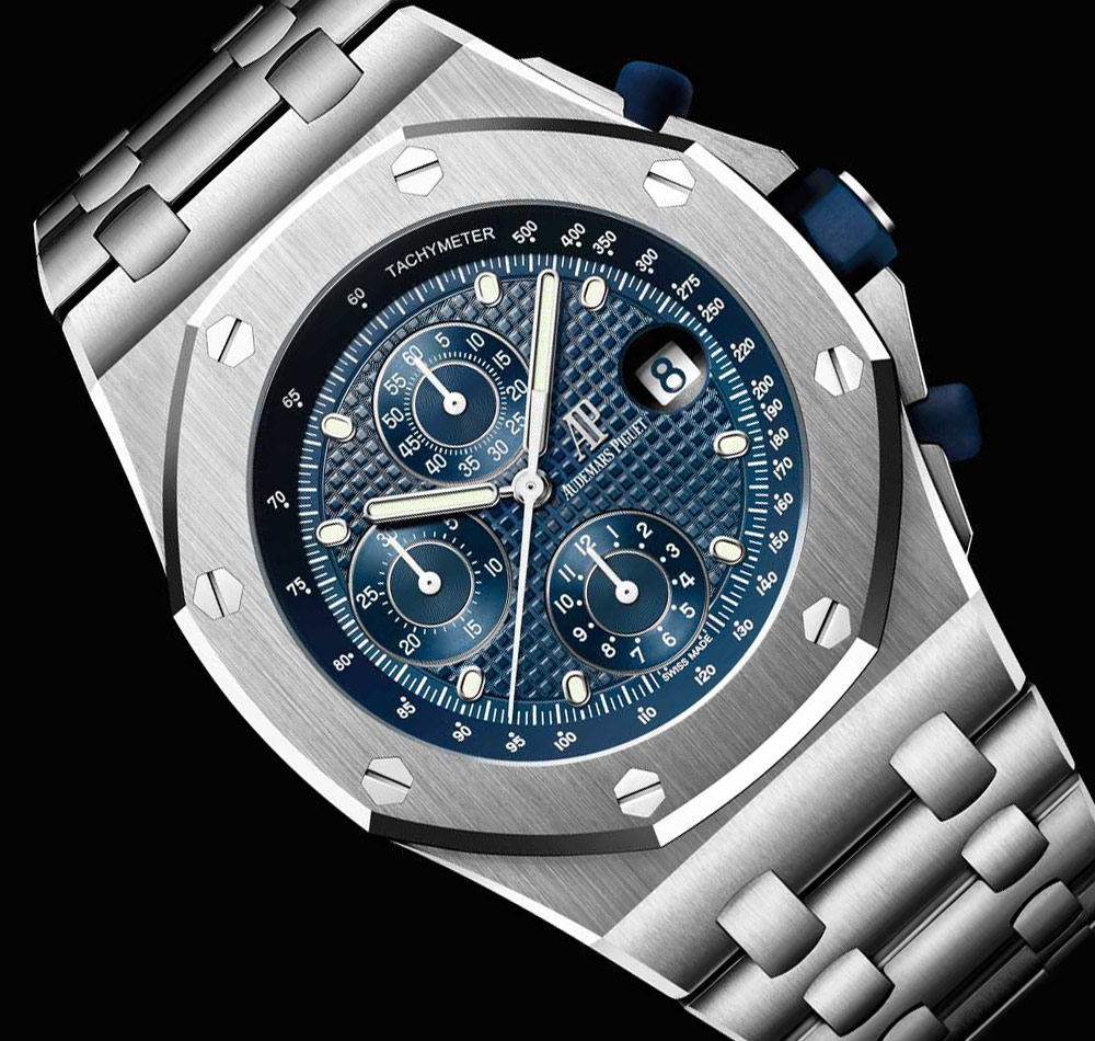Audemars Piguet Royal Oak Offshore Tourbillon Chronograph 25th Anniversary Watches Watch Releases
