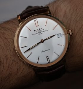 Ball Trainmaster Manufacture Watch Hands-On Hands-On