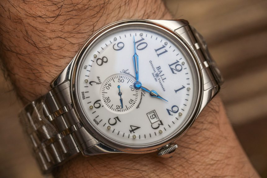 Ball Trainmaster Standard Time Watch Hands-On