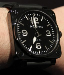 Bell & Ross BR01-92 Ceramic Watch Hands-On Hands-On