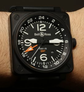 Bell & Ross BR01-93 GMT Watch Review Wrist Time Reviews