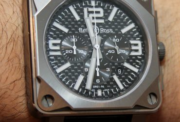 Bell & Ross BR01-94 Pro Titanium Carbon Fiber Watch Review Wrist Time Reviews