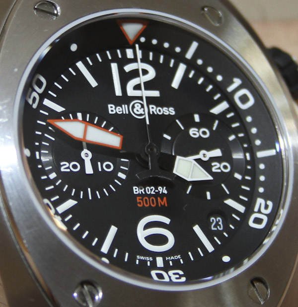 Bell & Ross BR02-94 Marine Chronograph Watch Review Wrist Time Reviews