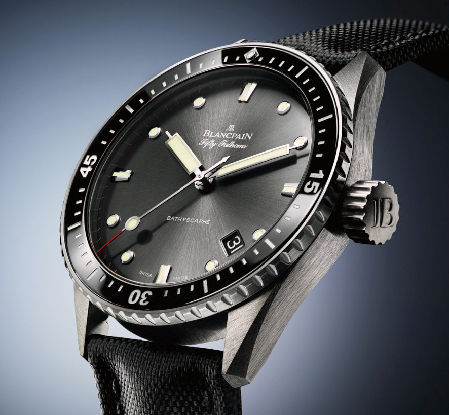 Blancpain Fifty Fathoms Celebrates 60 years with the Bathyscaphe Men's & Women's