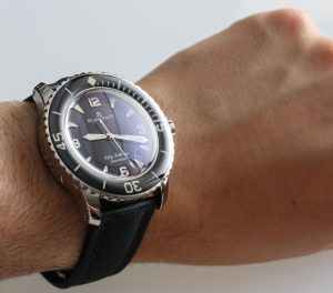 Blancpain Fifty Fathoms Automatique 5015 Watch Review Wrist Time Reviews