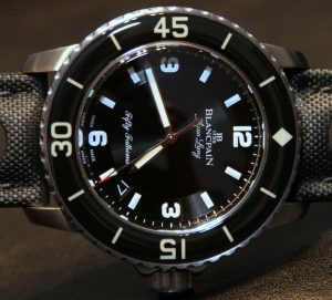 Blancpain Tribute To Fifty Fathoms Aqua Lung Watch Hands-On Hands-On