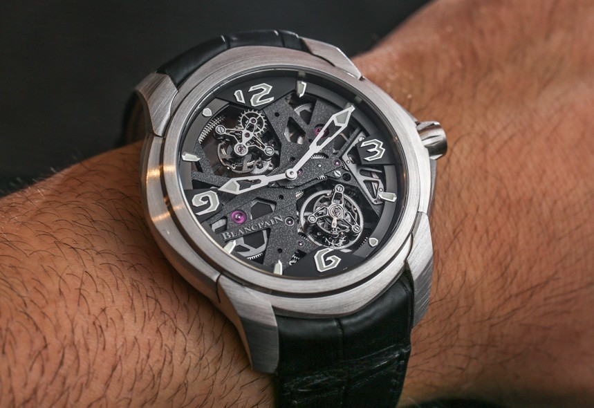 Blancpain L-Evolution Tourbillon Carrousel Watch For 2015 Hands-On