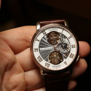 Tourbillon Carrousel Watch Finally Explains What Blancpain Leman Flyback Has Been Talking About, Hands-On Hands-On