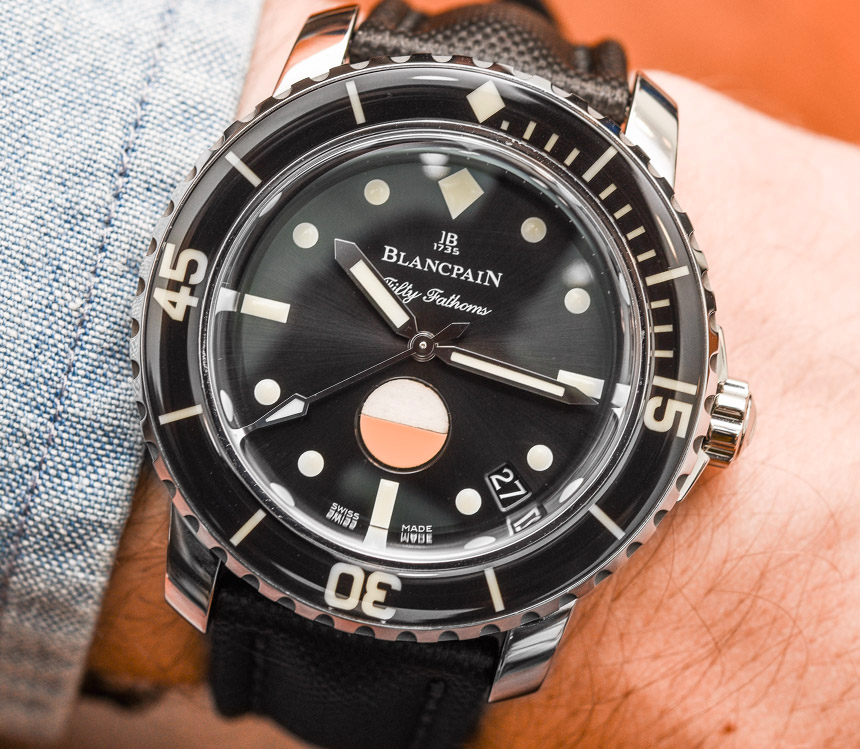 Blancpain Tribute To Fifty Fathoms Mil-Spec Watch Hands-On
