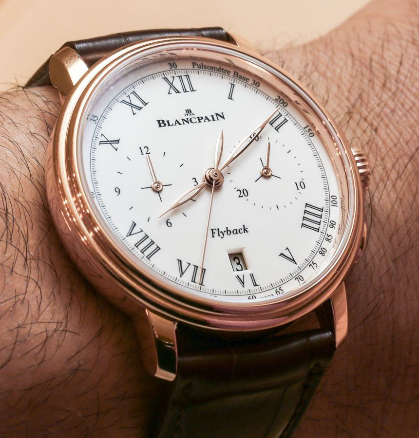 Blancpain Villeret Pulsometer Flyback Chronograph Watch Hands-On