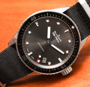 Baselworld 2013: The Blancpain Fifty Fathoms Bathyscaphe Watch Hands-On Hands-On