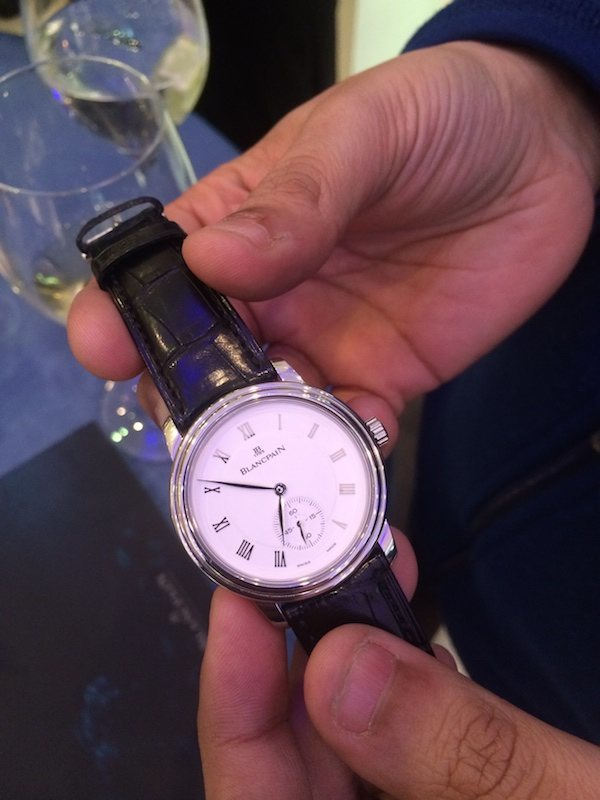 Event Recap: Blancpain Moonphase Price Watches At Tourbillon Store In San Francisco Shows & Events