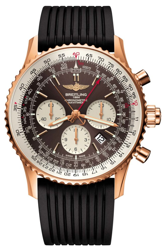 Breitling Navitimer Rattrapante Watch Watch Releases