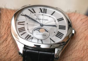 Cartier Drive De Cartier Watches Ebay Uk Replica Moon Phases & Drive De Cartier Extra-Flat Watches Hands-On Hands-On