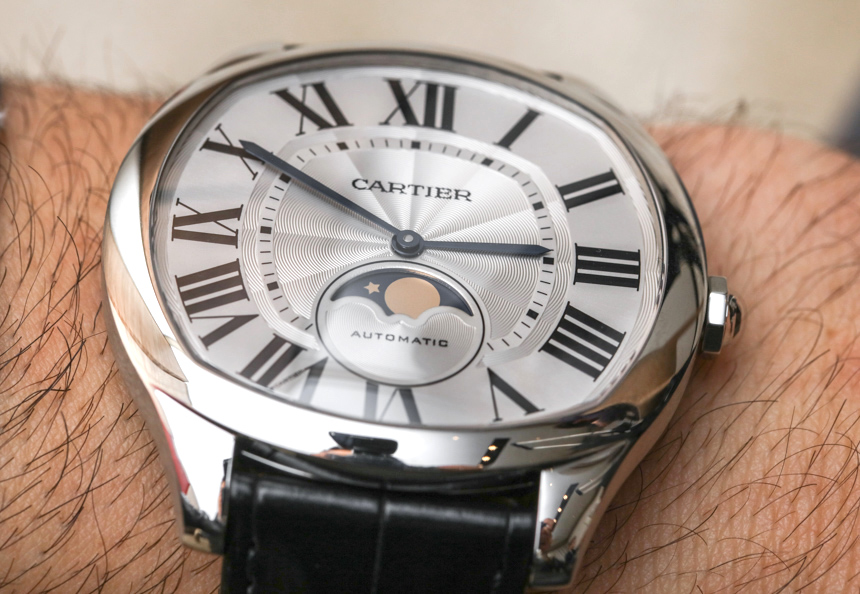 Cartier Drive De Cartier Moon Phases & Drive De Cartier Extra-Flat Watches Hands-On