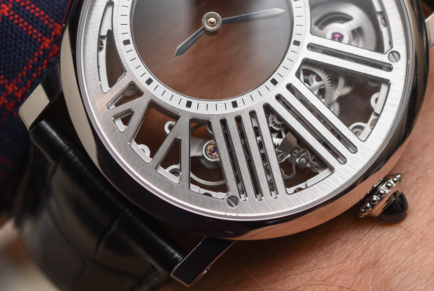 Cartier Rotonde De Cartier Watch Keeps Stopping Replica Mysterious Hour Skeleton Watch Hands-On Hands-On