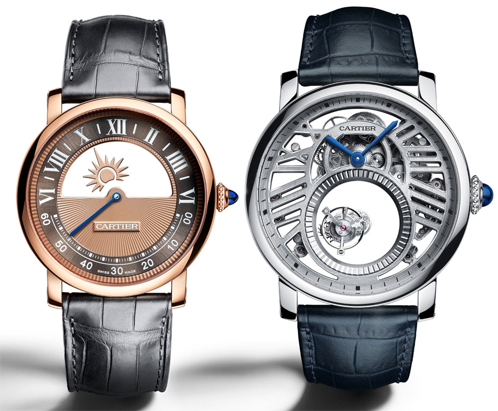 Cartier Rotonde De Cartier Mysterious Watches For 2018