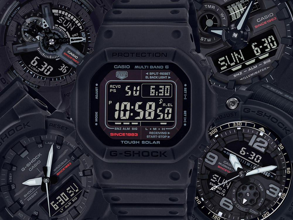 Casio G-Shock 35th Anniversary Collection Watches