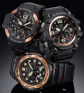 Casio G-Shock Master Of G Watches In 'Vintage Rose Gold Theme' Watch Releases
