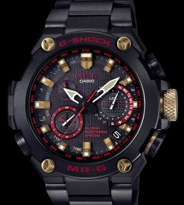 100,000,000th G-Shock: Casio Watch 06876 G-Shock MR-G 'Akazonae' Watch Watch Releases