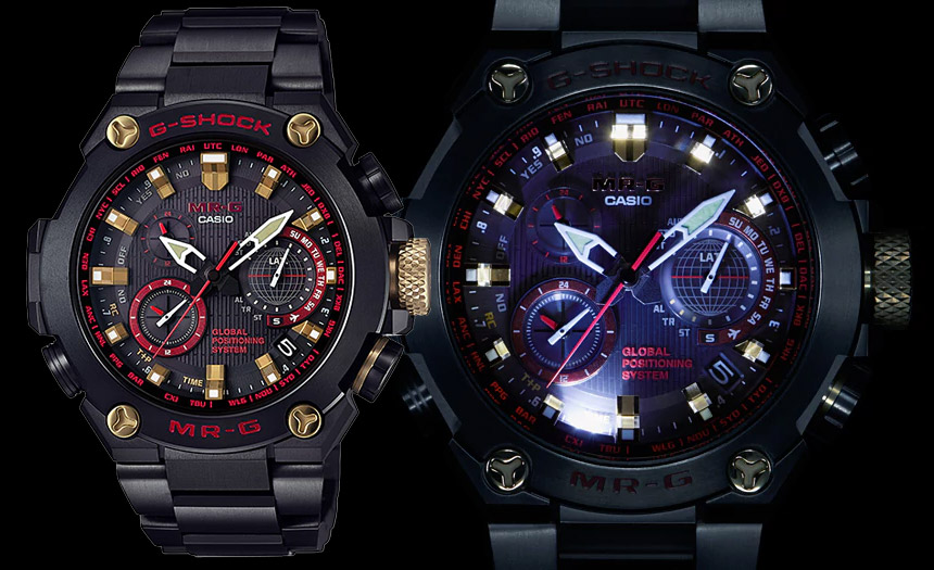 100,000,000th G-Shock: Casio Watches Mudmaster G-Shock MR-G 'Akazonae' Watch Watch Releases