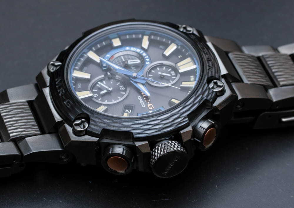 Casio G-Shock MR-G MRGG2000HT-1A Hammer Tone Bluetooth ,400 Watch Hands-On Hands-On