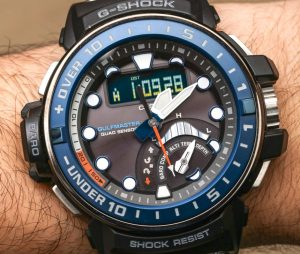 Casio G-Shock Master Of G Gulfmaster GWNQ1000-1A Watch Review Wrist Time Reviews