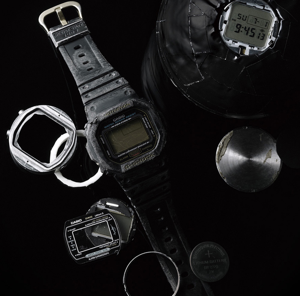 100,000,000th G-Shock: Casio G-Shock MR-G 'Akazonae' Watch Watch Releases