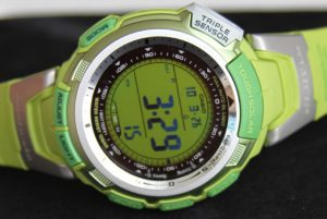 Casio Pathfinder PAG110C-3 Go Green Watch Review Wrist Time Reviews