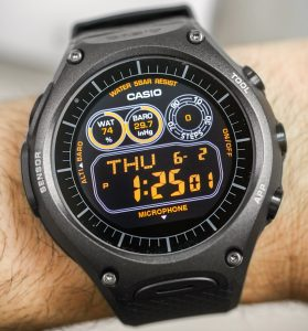 Casio WSD-F10 Android Wear Smartwatch Review Wrist Time Reviews