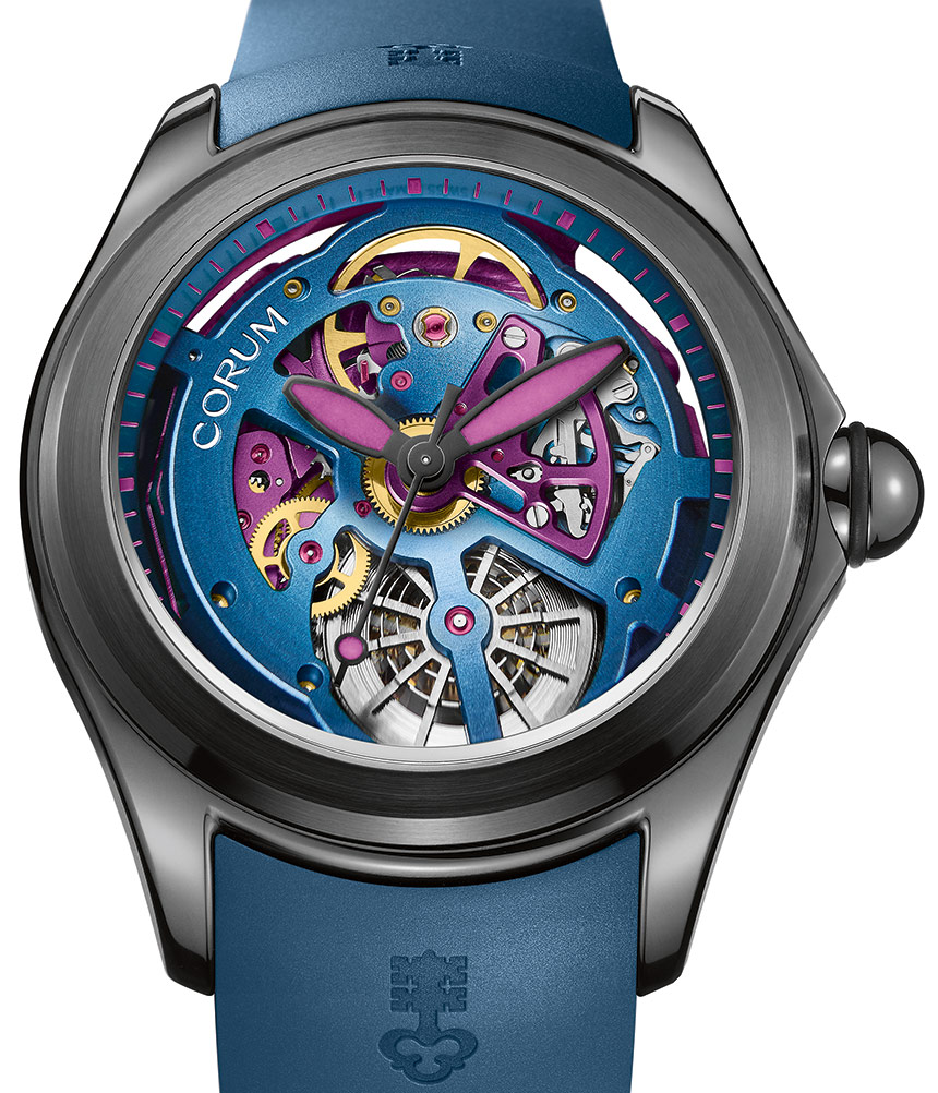 who sells the best Corum Bubble 47 Squelette Watch In Bright Colors For 2017 buy online