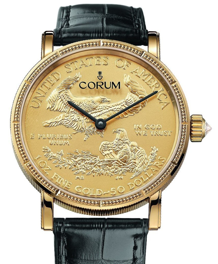 best quality Corum Coin Watch 50th Anniversary Edition swiss movement