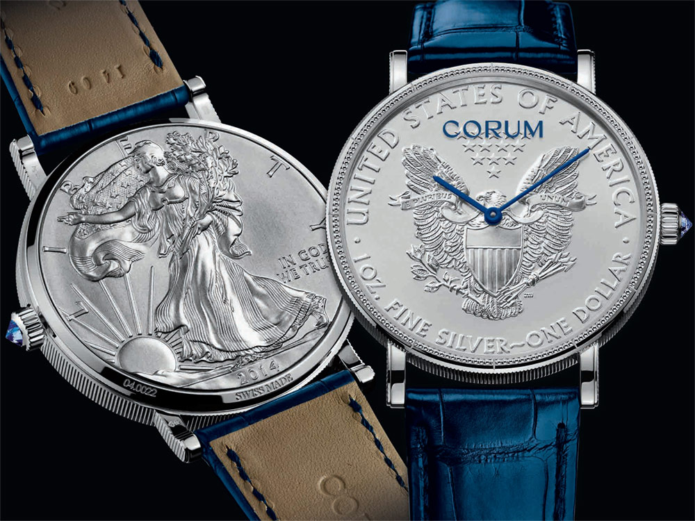 who makes the best Corum Heritage Artisans Coin Watches For 2017 clearance