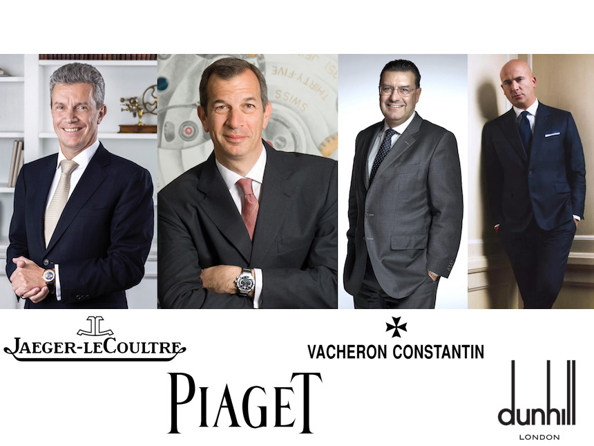 Richemont Continues Restructure With CEO Shakeups At Jaeger-LeCoultre, Vacheron Constantin, Piaget, & Alfred Dunhill